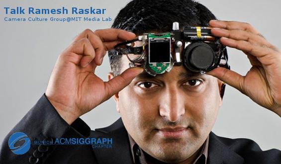 Talk Ramesh Raskar