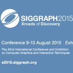 SIGGRAPH 2015 Ankündigung